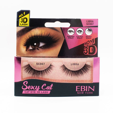 SEXY CAT 3D LASHES (CHOOSE STYLE) - Textured Tech