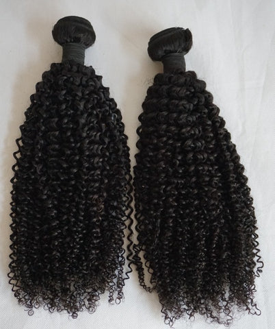 Kinky Curly Human Hair Bundle 3.5oz - Textured Tech