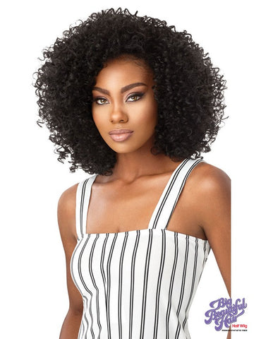 BIG BEAUTIFUL HAIR HALF WIG 3A PASSION CURL - Textured Tech