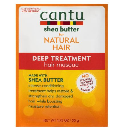 CANTU DEEP TREATMENT SHEA BUTTER HAIR & SCALP MASQUE - Textured Tech