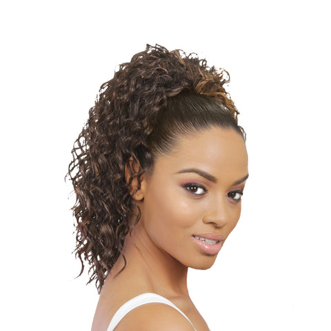 EVE HAIR CASABLANCA DRAWSTRING PONYTAIL FHP-359 - Textured Tech