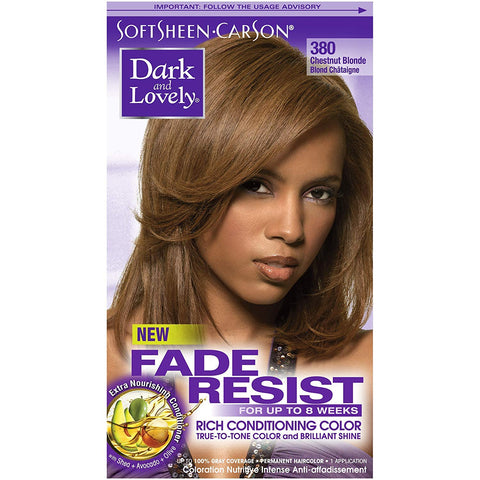 DARK & LOVELY COLOR FADE-RESISTANT RICH CONDITIONING PERMANENT HAIR COLOR - Textured Tech