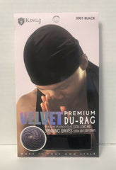 KING J VELVET PREMIUM DURAG - Textured Tech