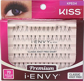 KISS I-ENVY INDIVIDUAL LASHES CLASSIC KNOT FREE - Textured Tech