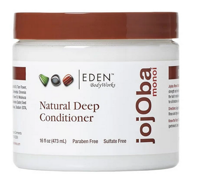 EDEN NATURAL DEEP CONDITIONER JOJOBA MONOI 16oz - Textured Tech