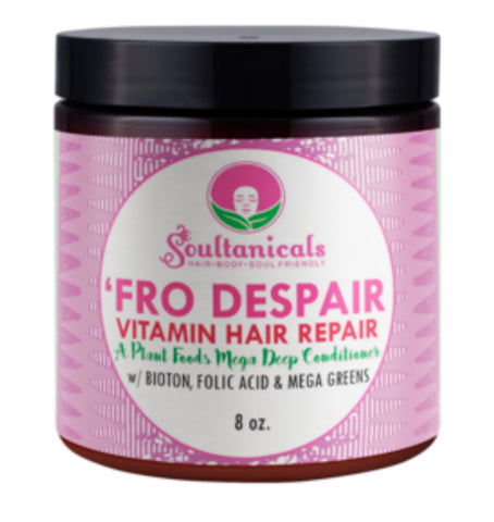 SOULTANICALS 'FRO DESPAIR VITAMIN REPAIR 8OZ - Textured Tech
