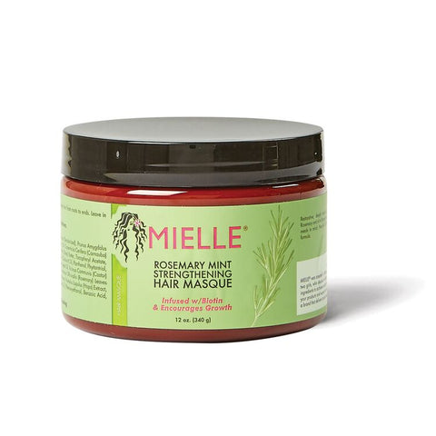 MIELLE ROSMARY HAIR MASQUE 12 OZ