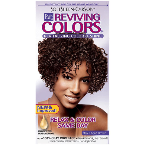 DARK & LOVELY REVIVING COLORS HAIR DYE - Textured Tech