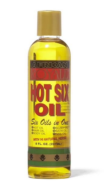 AFRICAN ROYALE HOT SIX OIL 8 OZ