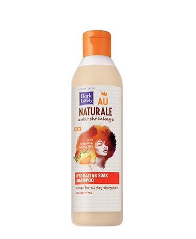 Dark and Lovely Au Naturale Anti Shrinkage Hydrating Soak Shampoo - Textured Tech