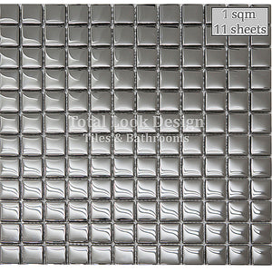 Mosaic Tiles Sheet Mirror Glass Mosaic 30cm X 30cm (mos001)