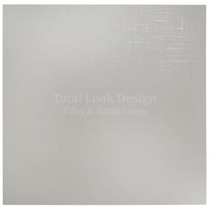 Canvass White Glitter Semi Polished Designer Porcelain Wall & Floor Tiles