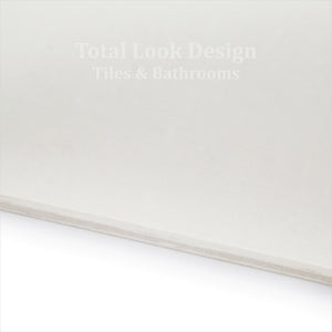 Luxor White Polished Porcelain Wall & Floor Tiles 60cm x 60cm
