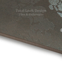 Fashion Bronze Wall Paper Effect Metallic Porcelain Wall & Floor Tiles SQM