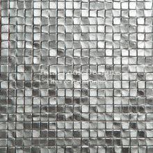 Fashion Silver Metallic Mosaic Effect Metallic Porcelain Wall & Floor Tiles SQM