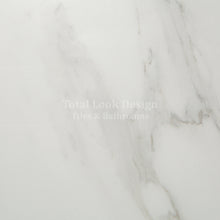 SALE!! Marble White Polished Stone Effect Italian Porcelain Wall & Floor Tiles 60cm X 60cm