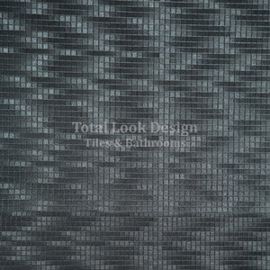 Fashion Anthracite 3D Effect Metallic Porcelain Wall & Floor Tiles SQM