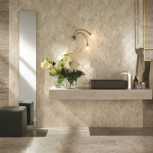Imp Cappuccino Polished Porcelain From £39.00 Per Sqm
