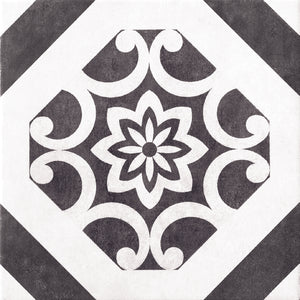 SALE!! Decor Black & White Designer Retro Italian Porcelain Wall & Floor Tiles
