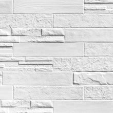Evolution White Brick Italian Porcelain Wall & Floor Tiles 7.5cm x 38.5cm