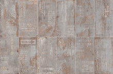 Iron Silver Metallic Italian Porcelain Wall & Floor Tiles
