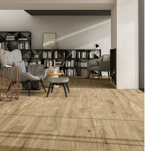 Eiche Scottish Wood Effect Italian Porcelain Wall & Floor Tiles