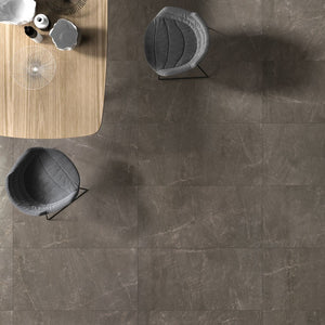 Logic Sky Smoke Marble Effect Polished Porcelain From £39.00 Per Sqm
