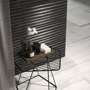 SALE!! 3D Chic Black Designer Italian Wall Tiles And Decor/ Only £6.90 Per Sqm