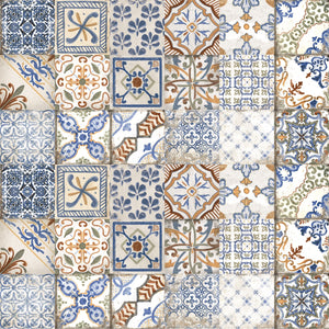 Maioliche Mix Designer Retro Italian Porcelain Wall & Floor Tiles 20x20