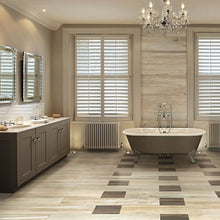 Space Bamboo Wood Effect Italian Porcelain Wall & Floor Tiles