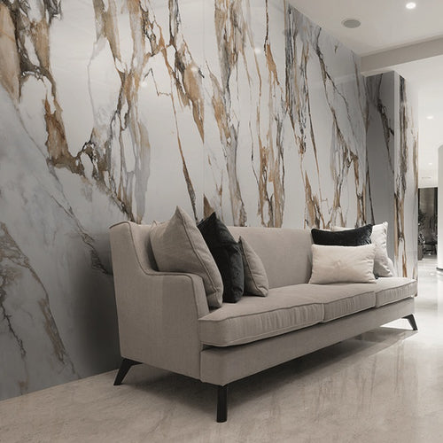 Large Format Calacatta Gold Porcelain Slabs