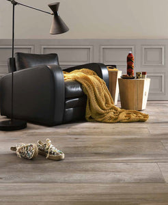 Space Cinnamon Wood Effect Porcelain Italian Tiles For Walls & Floors