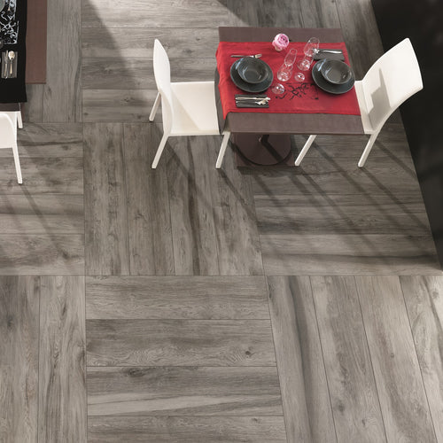 Space Cloud Wood Effect Porcelain Italian Tiles For Walls & Floors