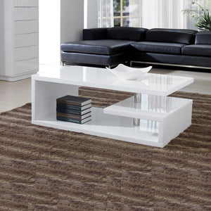 Elegance Square White Coffee Table