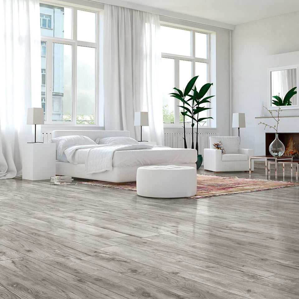 Ephedra Grey Wood Effect Italian Porcelain Wall & Floor Tiles