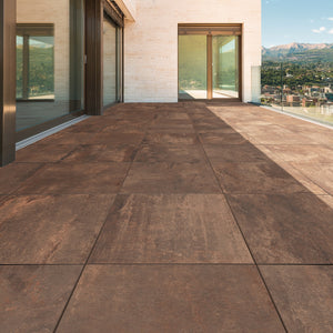 Outdoor Metal Floor Tiles 20mm