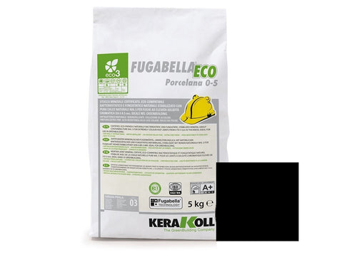 Kerakoll Fugabella Eco Flexible Grout Black 5kg