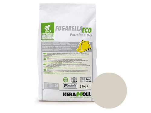 Kerakoll Fugabella Eco Flexible Grout Light Grey 5kg