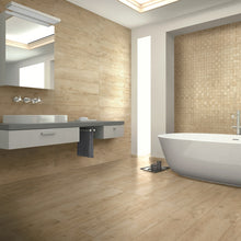 Ephedra Ivory Wood Effect Italian Porcelain Wall & Floor Tiles