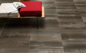 Steel Metal Black Metallic Italian Porcelain Wall & Floor Tiles
