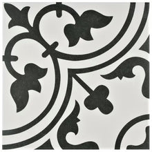 SALE!! Artea White & Black Decor Porcelain Wall & Floor Tiles 20x20
