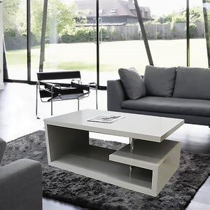 Elegance Square Gloss Grey Coffee Table