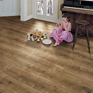 Elka 8mm Smoked Oak Laminate Flooring