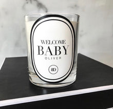 BABY PERSONALISED CANDLES