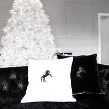 THE VELVET STALLION CUSHION SET