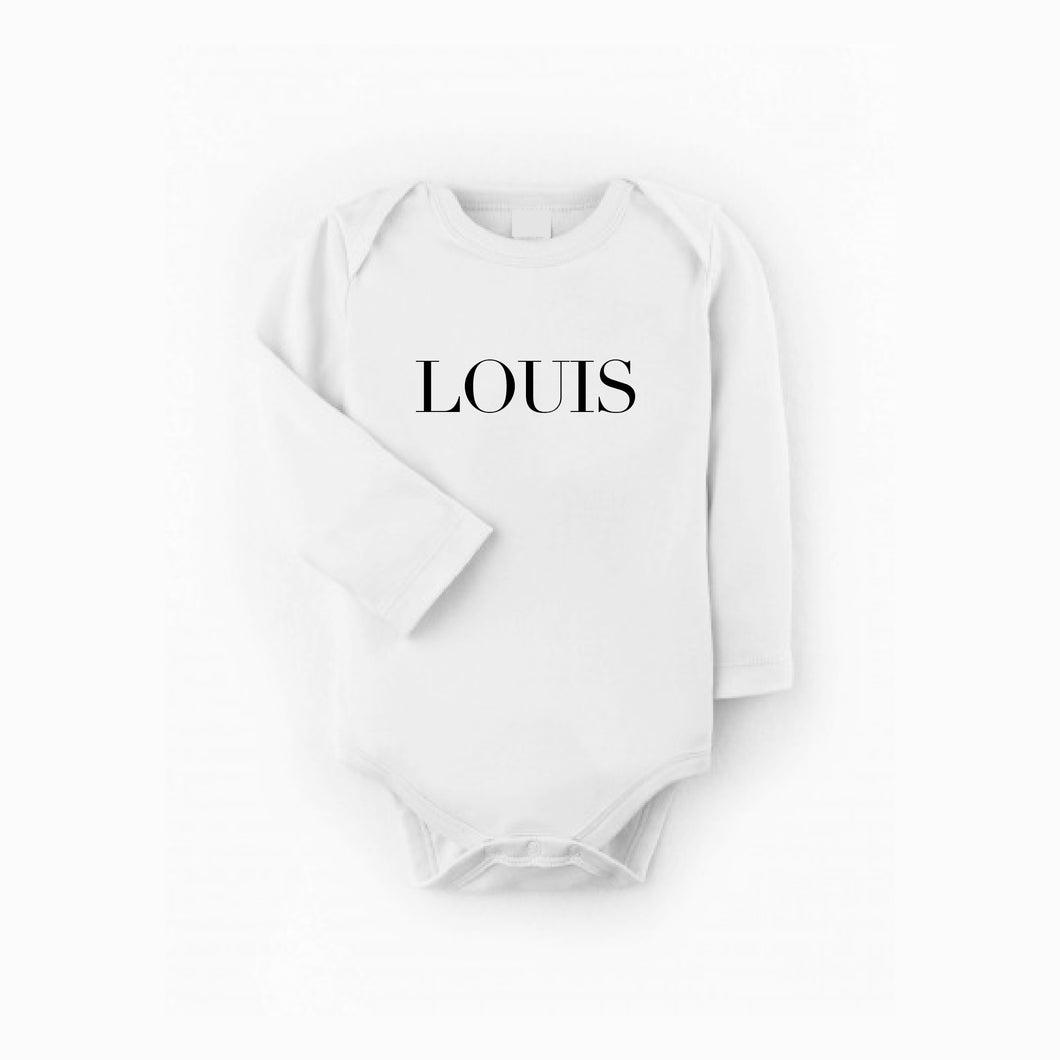 NAME BODYSUIT