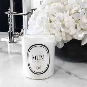 MOTHERS DAY EXTRA LARGE SUPER LUXE PERSONALISED CANDLE