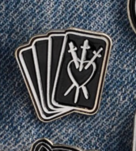 Cards Enamel Pins