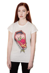 Coffin roses top