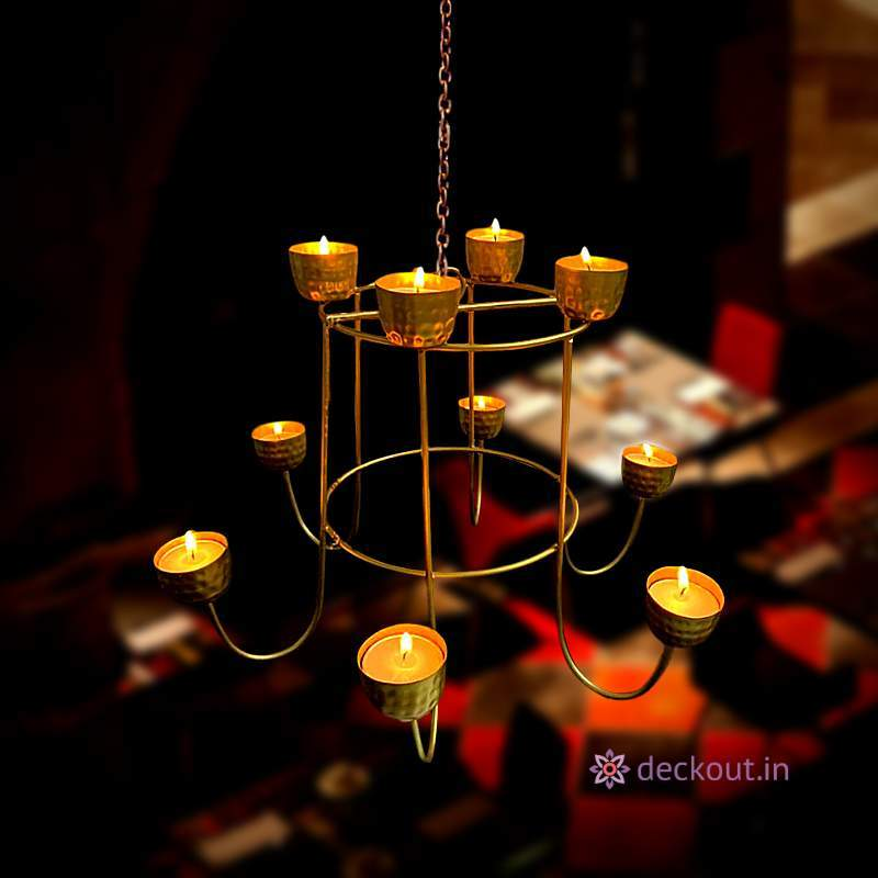 Dazzle Hanging Lamp-Candlestand-deckout.in